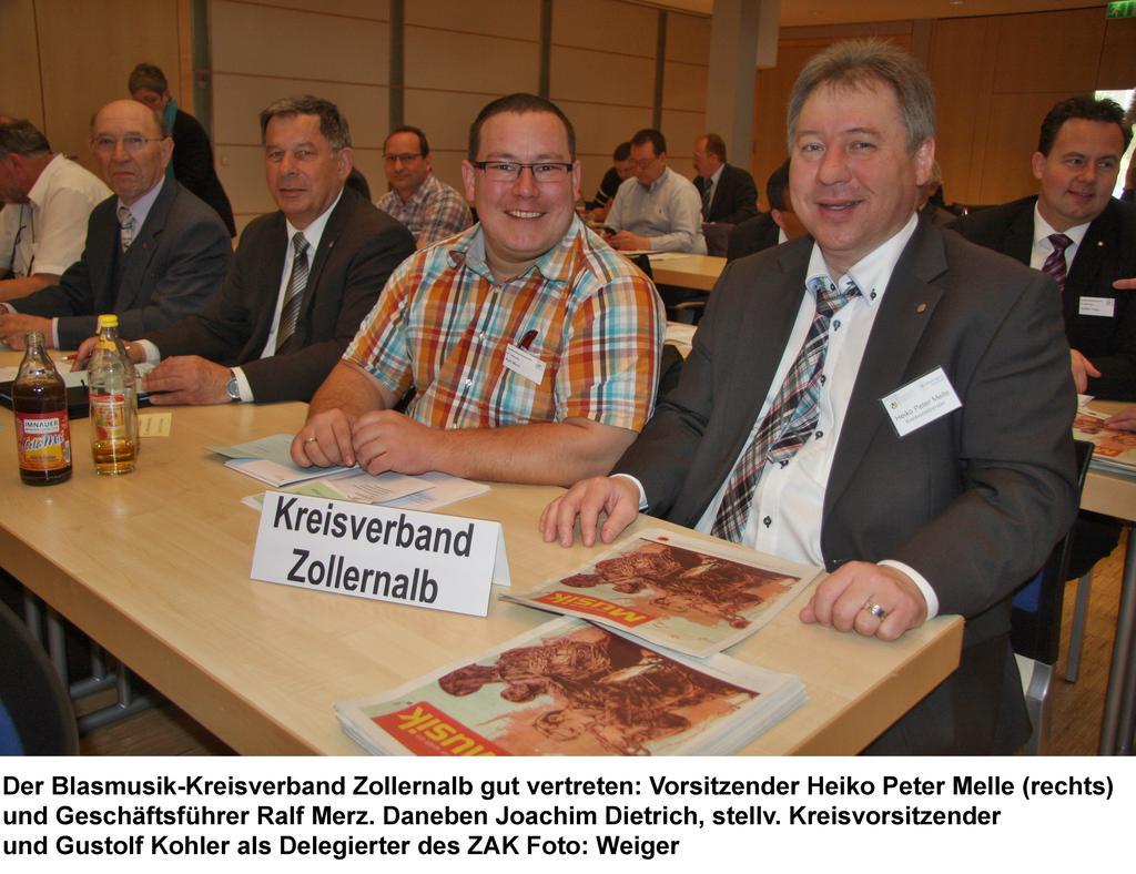 Funktionär Blasmusikverband Baden Württemberg: 32. Landesversammlung Des BVBW In Albstadt: Blasmusik